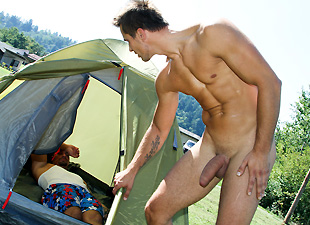 Camp-Site Anal Fucking