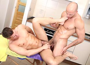 Man On Man Anal Massage