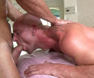 Guy getting rub usually gets hard