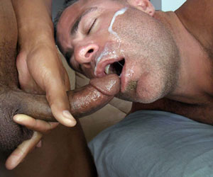 If not in his mouth, better be facial